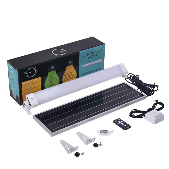 24w Solar Led Batten Light Kits For